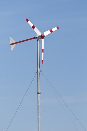 Pozioma elektrownia wiatrowa HAWT
